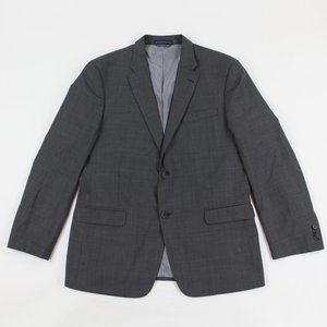 Tommy Hilfiger Blazer Sport Coat Notch Lapel Wool